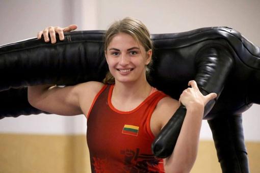Metų geriausia sportininke išrinkta šiaulietė Kamilė Gaučaitė
