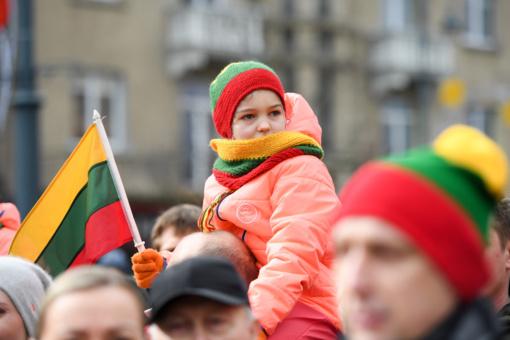 Nepriklausomybės aikštėje jau plevėsuoja trijų Baltijos valstybinių vėliavos