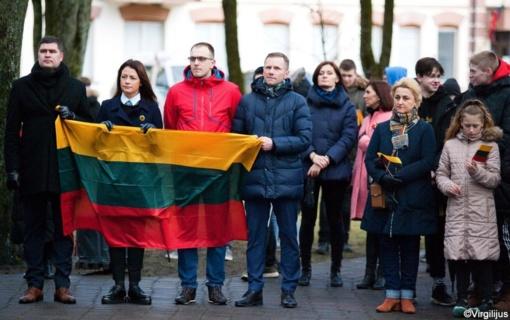 Lietuvos nepriklausomybės atkūrimo dienos 30-mečio šventė Švenčionyse