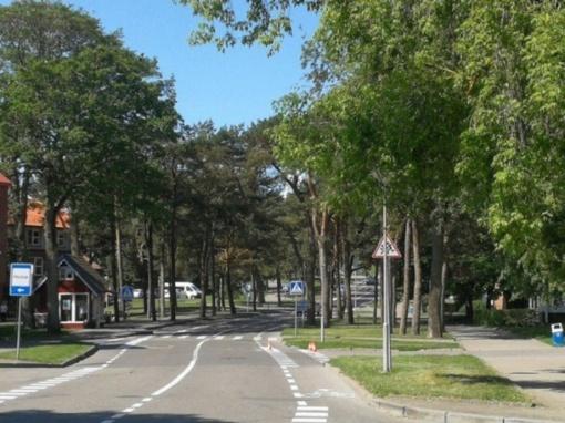 Visuomenei pristatoma saugaus eismo schema Kalno ir Žaliojo kelio gatvėse
