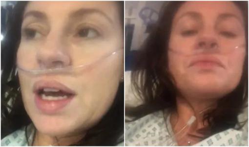 """Koronavirusu užsikrėtusios mamos prašymas: """"Nerizikuokite savo sveikata"""" (vaizdo įrašas)"""