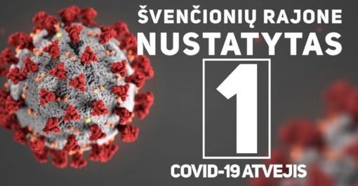 Švenčionių rajone nustatytas koronaviruso atvejis