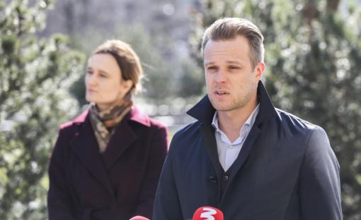 G. Landsbergis: opozicija nebemato A. Verygos vadovaujant Valstybės ekstremalių situacijų operacijų centrui