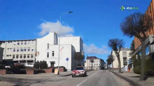 Karantino dienoraščiai: vaizdo turas po ištuštėjusias Kupiškio gatves
