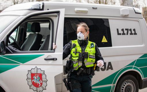 Policija antradienį sulaukė 312 pranešimų dėl karantino nesilaikymo