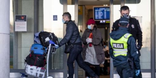 Grįžusieji iš užsienio galės nuo saviizoliacijos vietos nutolti per kilometrą