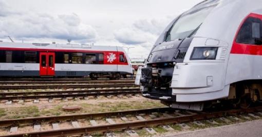 Nebekursuos trečdalis traukinių