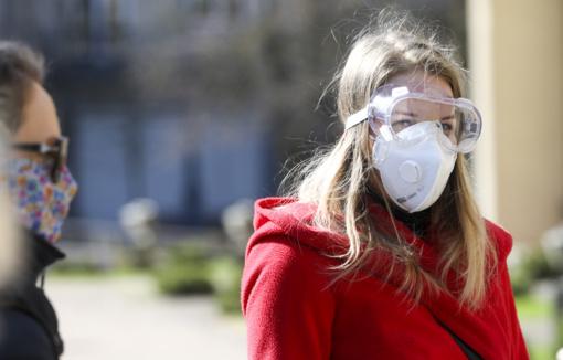 Į renginius – tik su medicininėmis kaukėmis ar respiratoriais