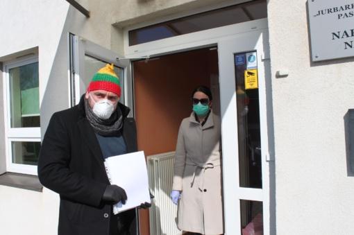 Savivaldybės patalpose izoliuoti iš užsienio grįžę jurbarkiečiai paliko nakvynės vietas