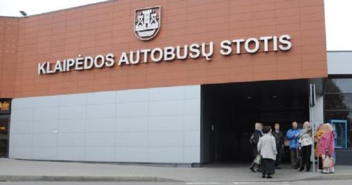 Uždarys Klaipėdos autobusų stotį