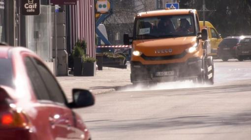 Vilnius plečia dezinfekcijos apimtis: atėjo laikas ir gatvėms