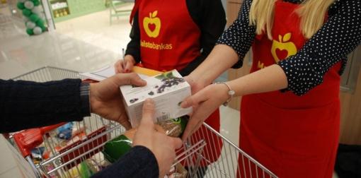 Maisto aukų rinkimo akcija