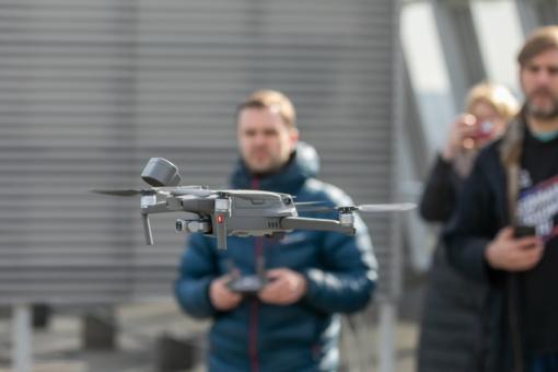 Vilniuje užtikrinti viešajai tvarkai bus pasitelkti dronai