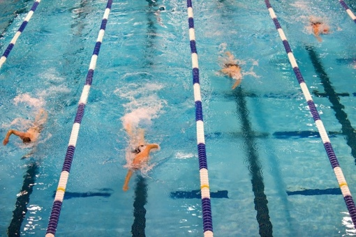 Tėvus šokiravo nuotolinės plaukimo pamokos: mokys plaukti ant kilimo?