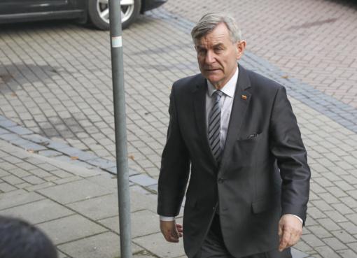 Seimo pirmininko atstovu spaudai tapo jo ligšiolinis padėjėjas P. Žeimys