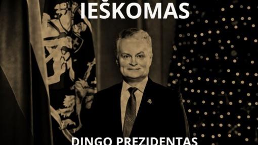 """""""Ieškomas dingęs prezidentas"""": kodėl G. Nausėda nesiima lyderio vaidmens?"""