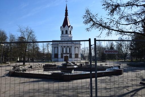 Panevėžyje prasidėjo Nepriklausomybės aikštės rekonstrukcija
