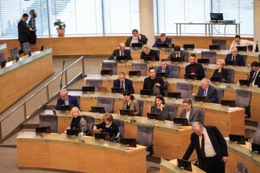 Seimas svarstys įstatymų pataisas dėl sąskaitų atidarymo elektroninių pinigų įstaigose