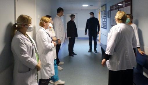 Molėtų ligoninė rengiasi atidaryti Karščiavimo kliniką