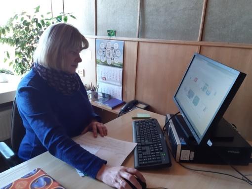 Pirmoji nuotolinio mokymo diena Ignalinos rajone praėjo gana sklandžiai