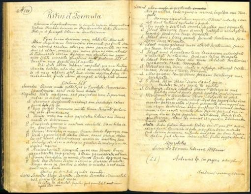 Senosiose vyskupijos bažnytinėse knygose atrasime praeitį