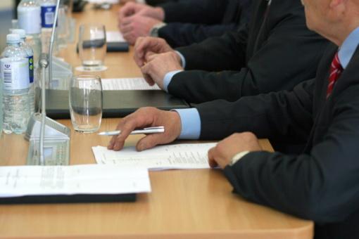 Tarybos posėdis – raštu
