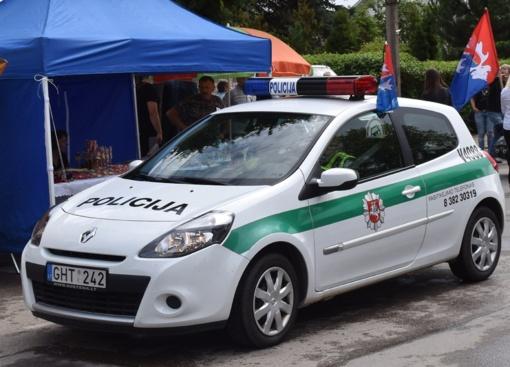 Administracijos direktorė Ingrida Baltušytė-Četrauskienė kreipėsi į Širvintų policijos komisariatą