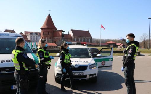Tyrimo metu informacija apie smurtavusius pareigūnus nepasitvirtino