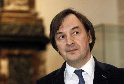 Prisiekė naujai išrinktas VU rektorius R. Petrauskas