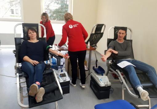 Nacionalinis kraujo centras atvyksta į Rokiškį