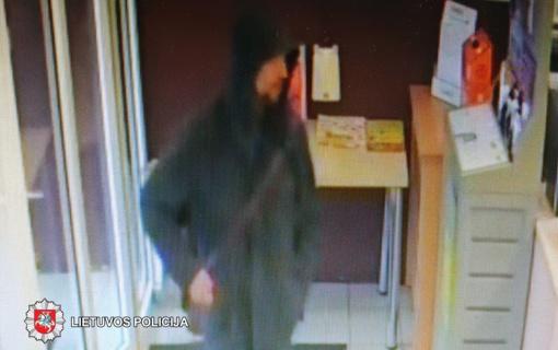Panevėžyje ieškomas maisto produktus pavogęs vyras