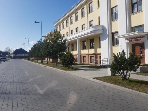 Marijampolėje darbą pradės Karščiavimo klinika