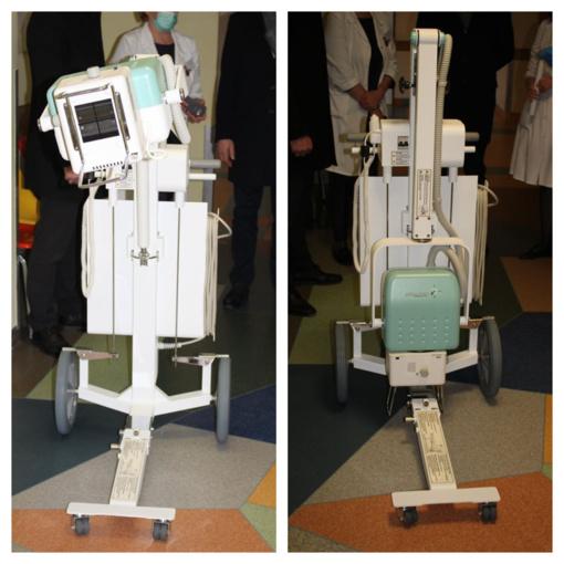 Telšiai gavo naują rentgeno aparatą kovai su Covid – 19
