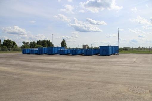 Joniškio rajone atnaujinta didelio gabarito atliekų aikštelių ir priėmimo punktų veikla