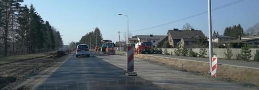 Šiauliuose ir toliau vyksta intensyvūs remonto darbai