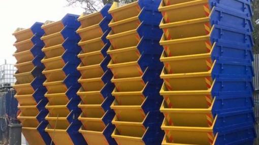 Konteinerių nuoma užtikrina paprastesnį statybų aikštelės tvarkymą