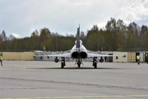 Atvyksta nauja NATO oro policijos misijos rotacija