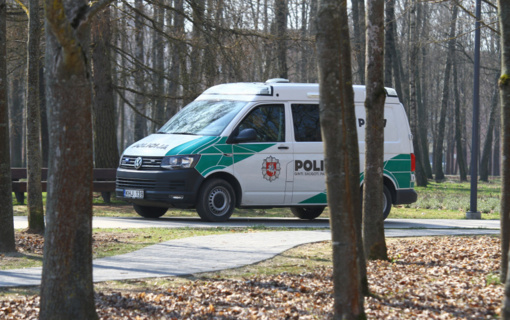 Policija prašo be svarbios priežasties nevažiuoti į Birštono kurortą