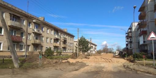 Pradėta Kęstučio–J. Basanavičiaus–Rūtų g. kvartalo rekonstrukcija