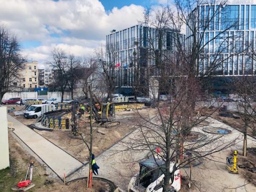 Kauno plėtra nestoja – miestiečiams kuriama nauja viešoji erdvė