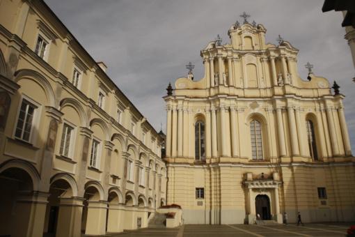 Šiais mokslo metais studijos Vilniaus universitete vyks tik nuotoliniu būdu