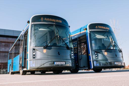 Klaipėdoje – pirmieji du lietuviški elektrobusai