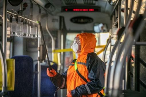 Vykusiems 1G maršruto autobusais ir 6 maršruto troleibusais rekomenduojama saviizoliacija