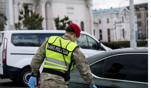 Velykų savaitgalį draudimus vykti į kitus miestus užtikrins 3 tūkst. pareigūnų