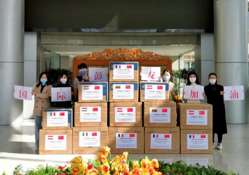 Anykščiuose – humanitarinė siunta iš Kinijos