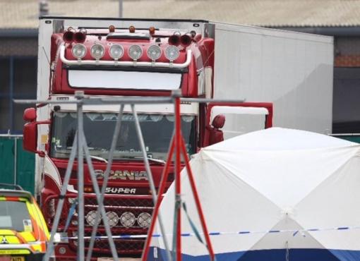 JK vairuotojas, kurio sunkvežimyje rasti 39 kūnai, pripažino savo kaltę dėl nužudymo
