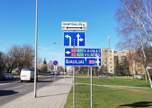 Įspėja vairuotojus: vienoje Panevėžio sankryžoje keičiasi eismo kryptys
