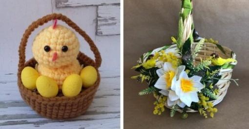 Velykinių krepšelių dekoravimas – sukurkite šventės dvasią namuose