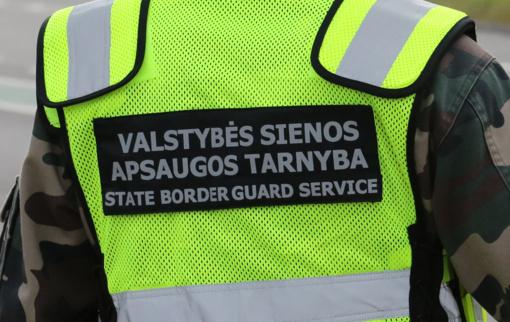 Po tarnybos namo važiavę pasieniečiai Vilniuje sulaikė girtą vairuotoją