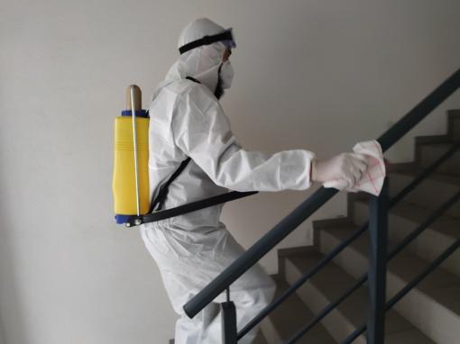 Laiptinių dezinfekavimas Šiaulių regione:  ką būtina žinoti?